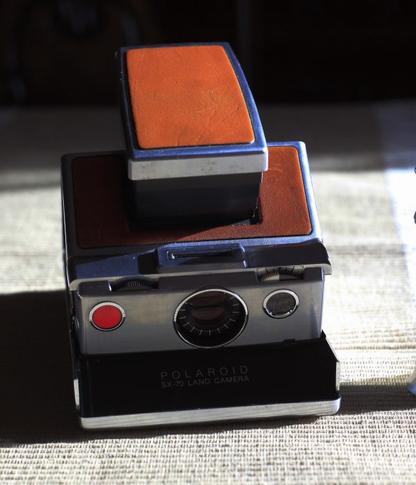 The Polaroid SX70 Instant Camera