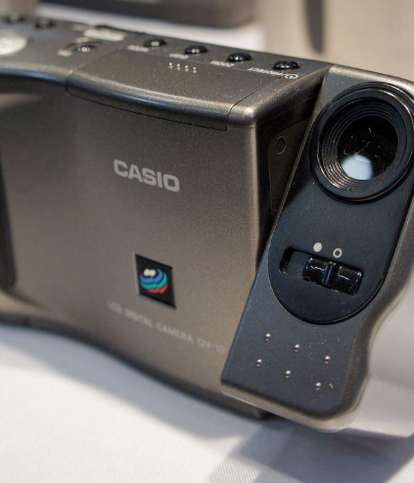 The Casio QV-10 Digital Camera